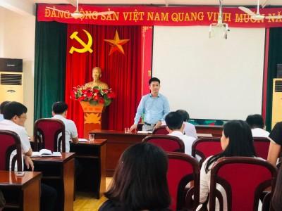 Họp chi bộ thường niên – Hoạt động nhằm xây dựng chi bộ đảng trong sạch và vững mạnh