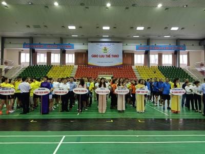 Giao lưu thể thao Khối thi đua số VII - Công đoàn Viên chức Việt Nam