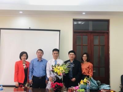 Lễ công bố quyết định Phó Hiệu trưởng và giao nhiệm vụ phụ trách trường Cao đẳng nghề Kỹ thuật – Mỹ nghệ Việt Nam