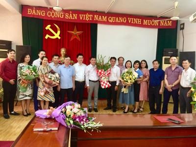 Lễ công bố quyết định bổ nhiệm Phó Hiệu trưởng trường Cao đẳng Kỹ thuật – Mỹ nghệ Việt Nam, nhiệm kỳ 2021 – 2026.