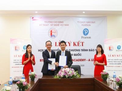 Hợp tác đào tạo Chương trình Cao đẳng BTEC Quốc tế với Tổ chức Pearson.
