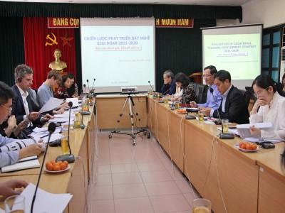 Chuẩn bị cho xây dựng Chiến lược phát triển giáo dục nghề nghiệp giai đoạn mới
